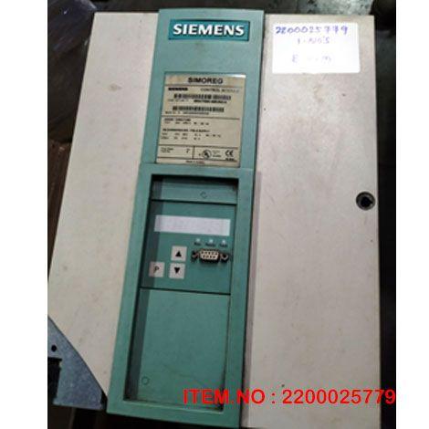 Siemens Control Module: P/N: 6RA700-0MV62-0Z
