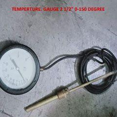 "TEMPERTURE. GAUGE 2 1/2"" 0-150 DEGREE"