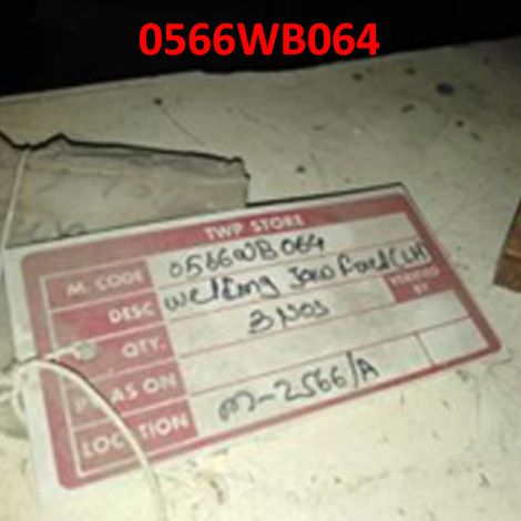 WELDING JAW FIXED (L H) TO DRG NO WL-291