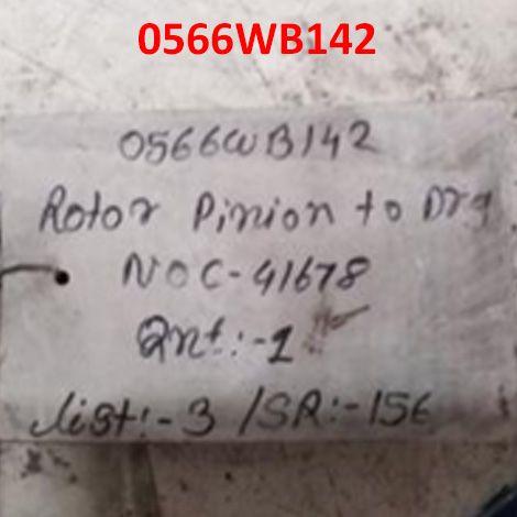 ROTOR PINION TO DRG NO C-4/1678