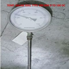 Temparature Gauge Dial Type