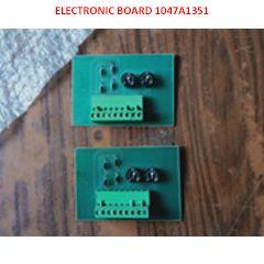 ELECTRONIC BOARD FOR TECHOGENERATOR